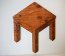 72 square table wood a