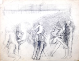 Figure Studies 10x13 graphite
