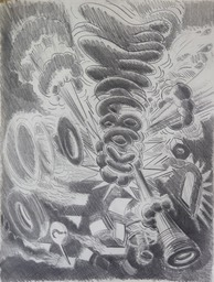 kaboom18X24 pencil